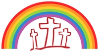 Rainbow and Cross image