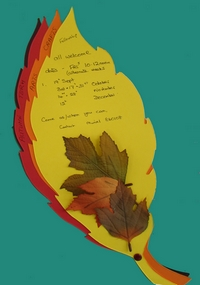 Creative Arts Leaves poster