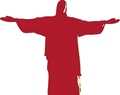 Jesus arms outstretched Image